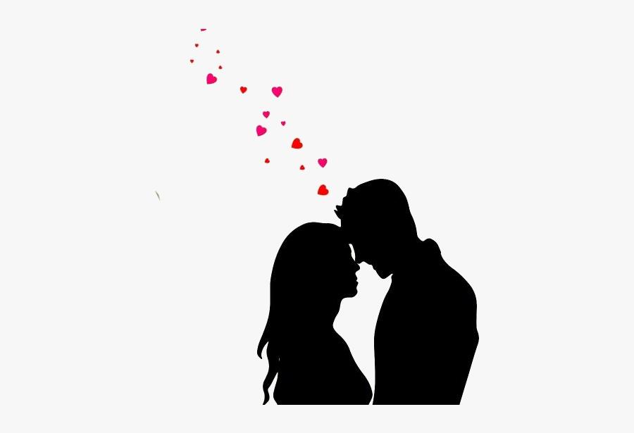 Romantic Love Couple Png Clipart.
