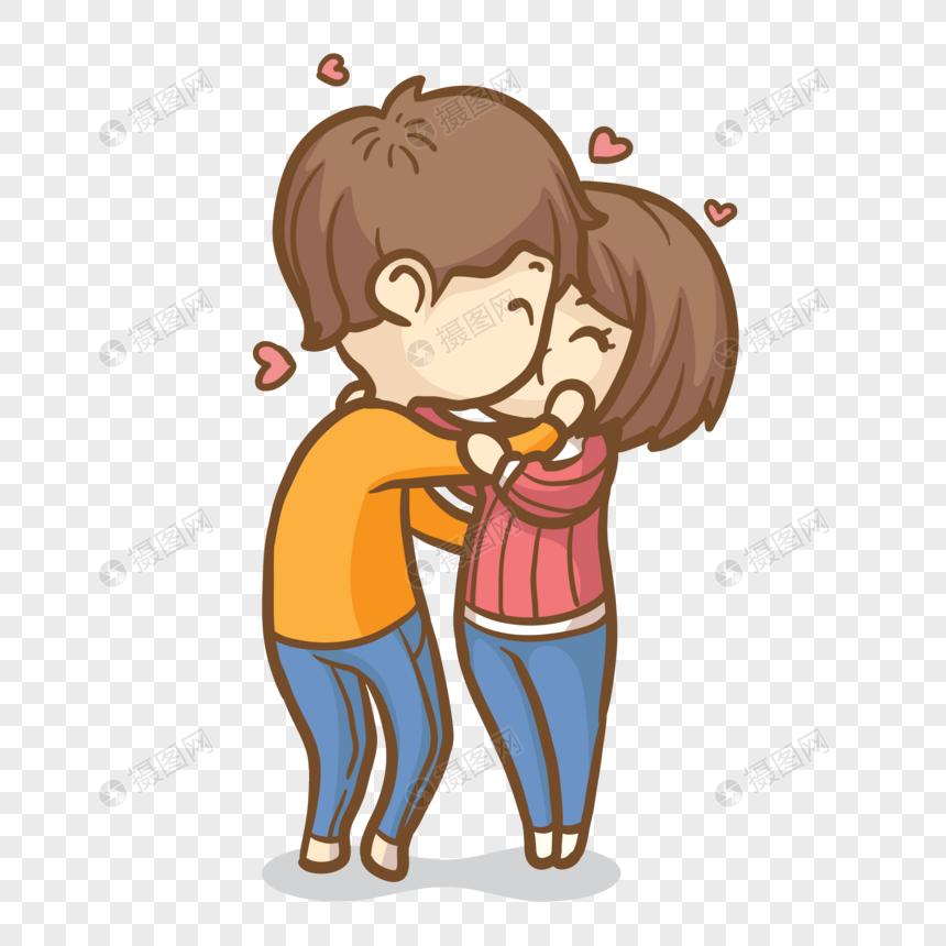 pareja de san valentín tiene amor besos Imagen Descargar_PRF.