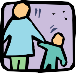Clipart Parent And Child.