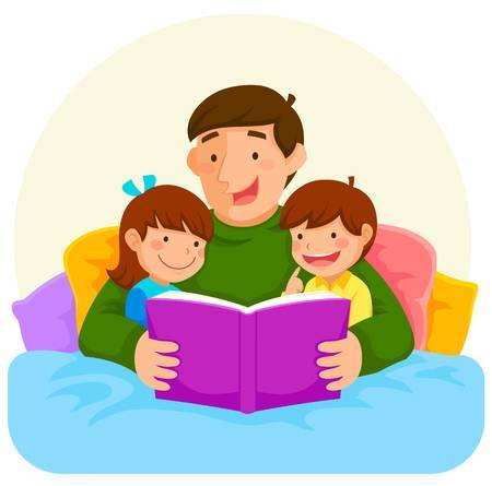 Parent child reading clipart 1 » Clipart Portal.