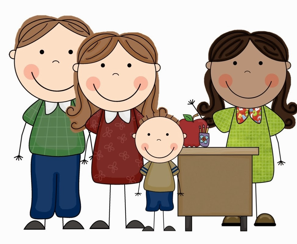 Parent Teacher Communication Clipart.