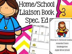 Home School Parent Communication Book.