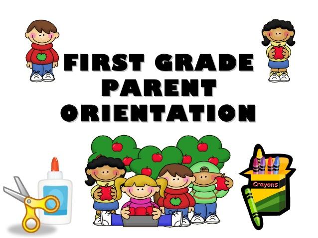 Parent Orientation Cliparts.