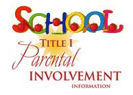 Title I Parent Involvement.