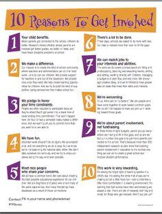 5 Important Facts About Parent Involvement #ptchat #parenting.