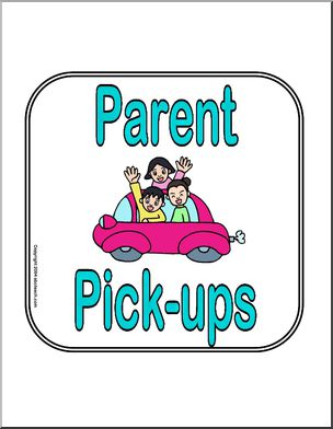 Sign: Parent Pick.