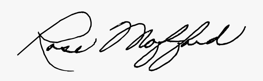 Pen Clipart Parent Signature.