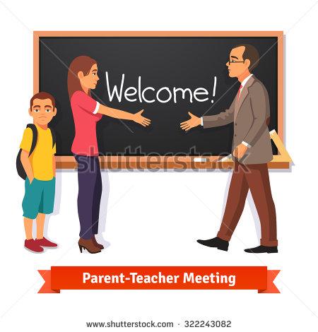 Parent Teacher Student Clipart.