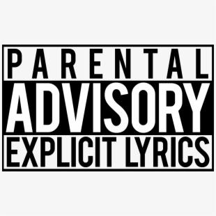 PNG Parental Advisory Cliparts & Cartoons Free Download.