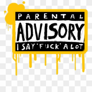Free Gold Parental Advisory Png Transparent Images.