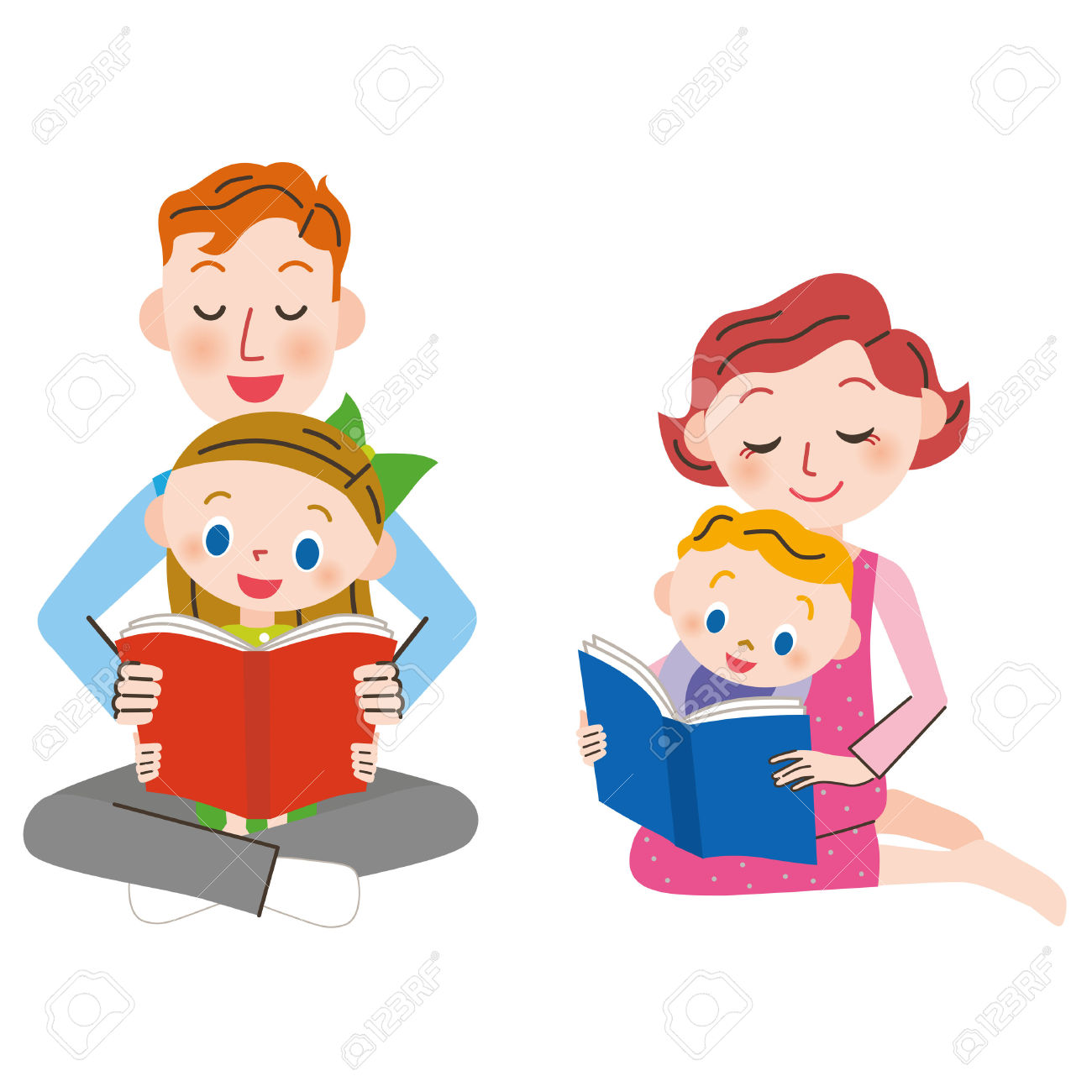 50,822 Parents And Children Stock Vector Illustration And Royalty.