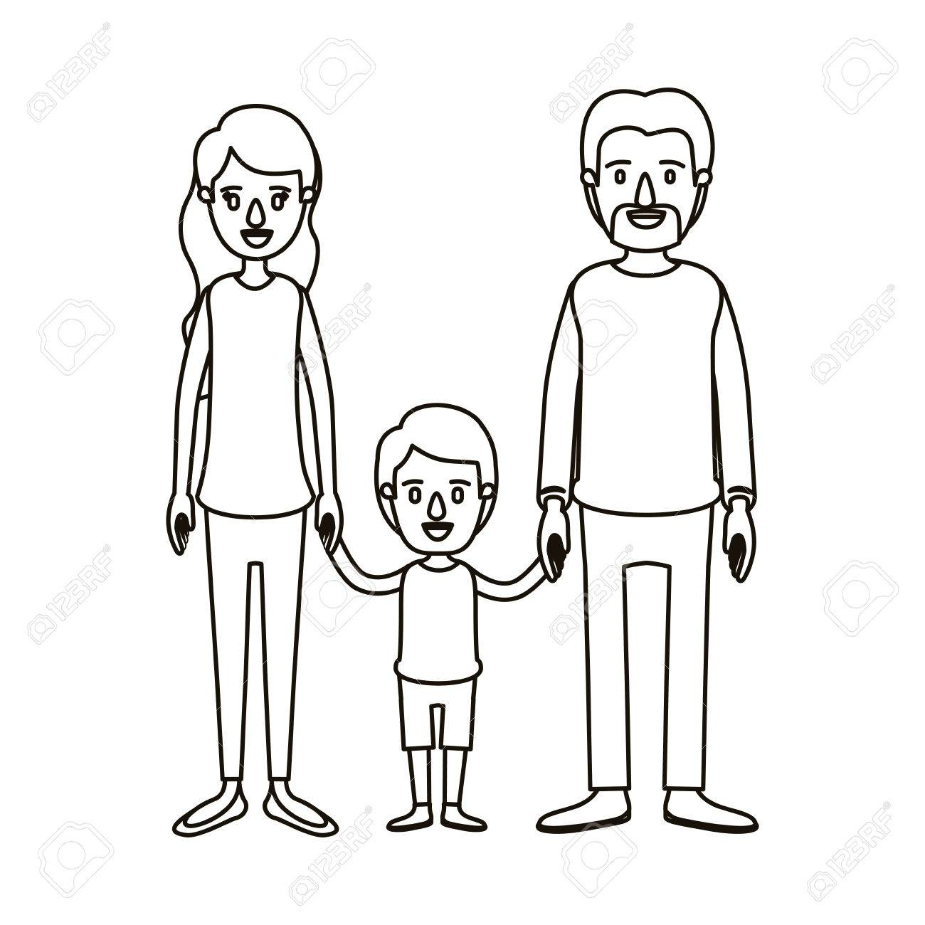 Parents Clipart Black And White (84+ images in Collection.