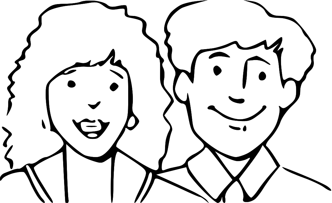 Parents clipart black and white 1 » Clipart Station.