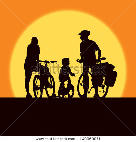 Vector Images, Illustrations and Cliparts: Parents and child.
