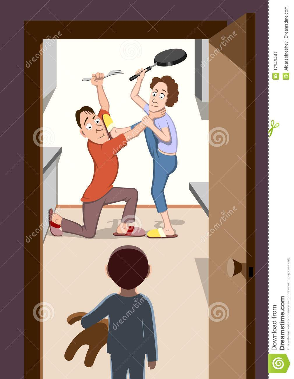Parents fighting clipart 7 » Clipart Portal.