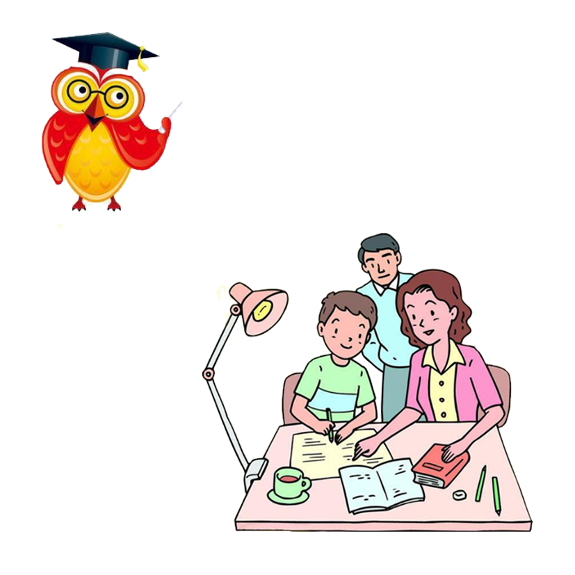 Homework clipart parent student, Homework parent student.