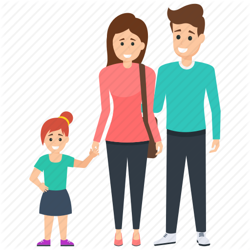 \'Family Characters\' by Vectors Market.