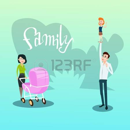 8,004 Children Pram Stock Vector Illustration And Royalty Free.