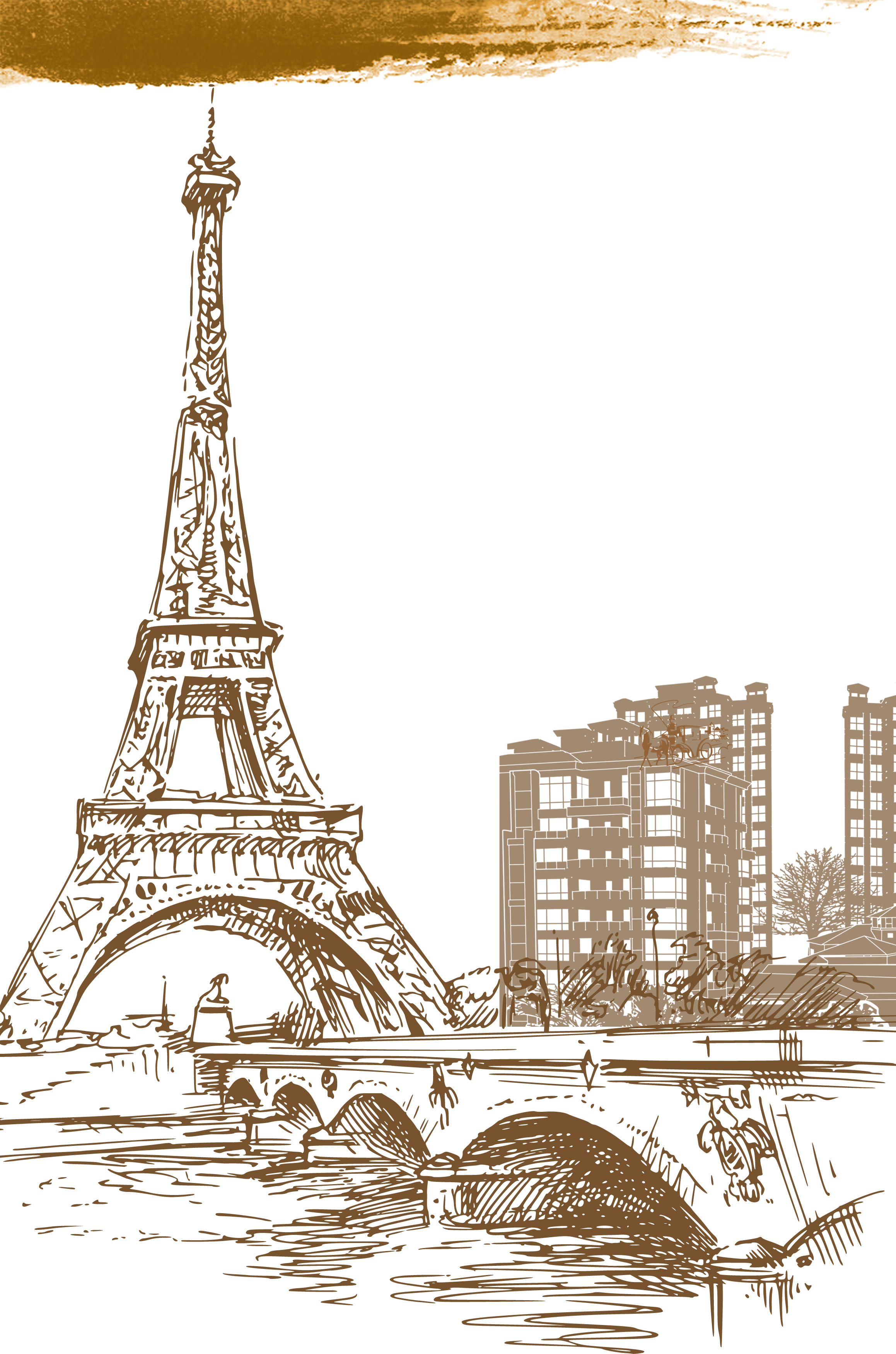 Paris background clipart images gallery for free download.