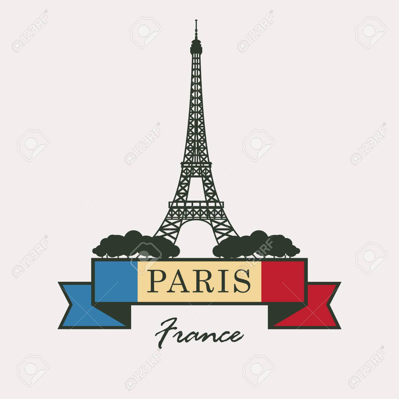 86+ Eiffel Tower Clipart.