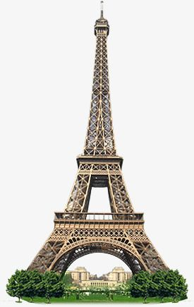 Eiffel Tower, Paris, Transmission Tower, Products Real.