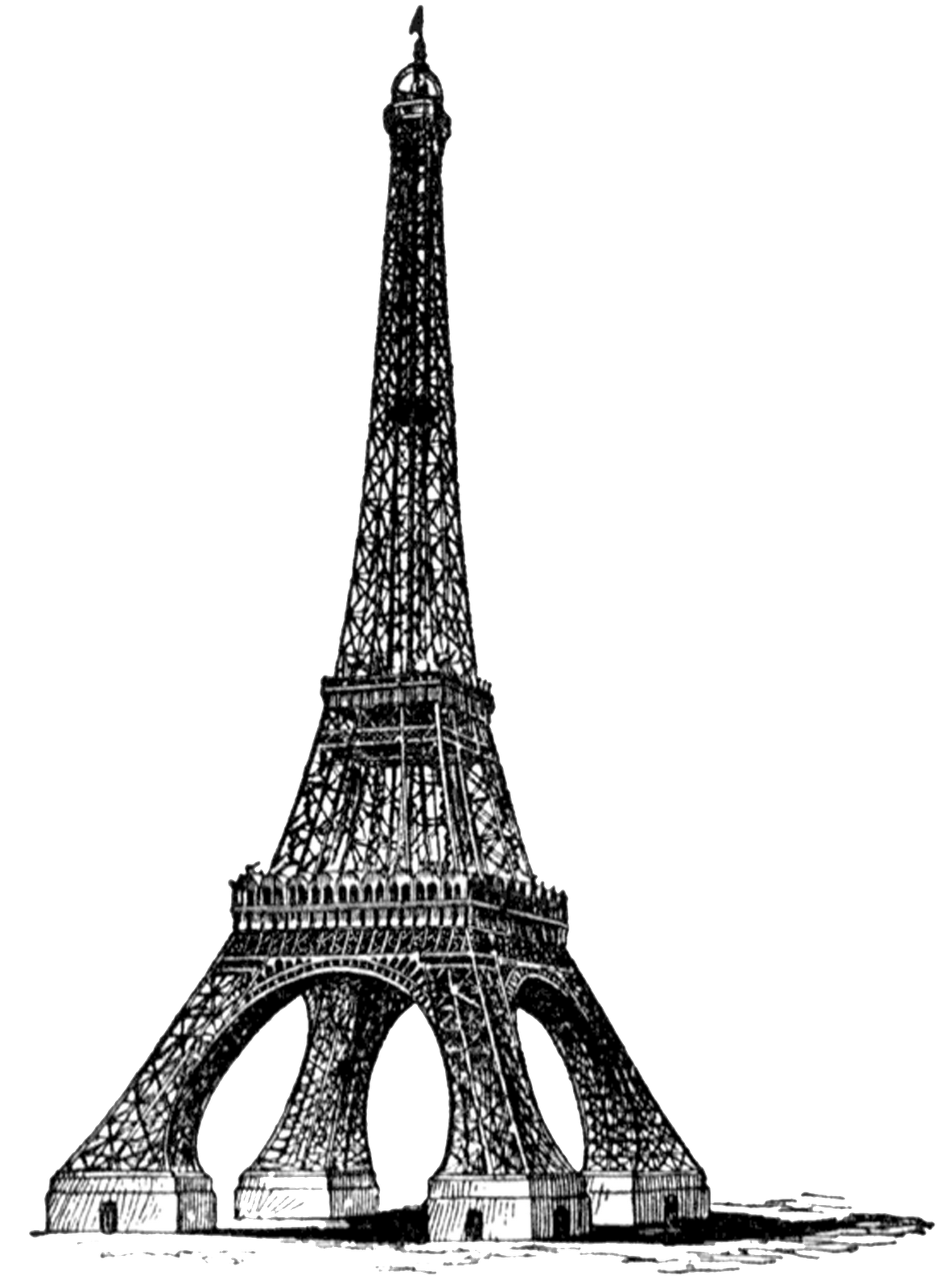 Eiffel Tower PNG Transparent Images.