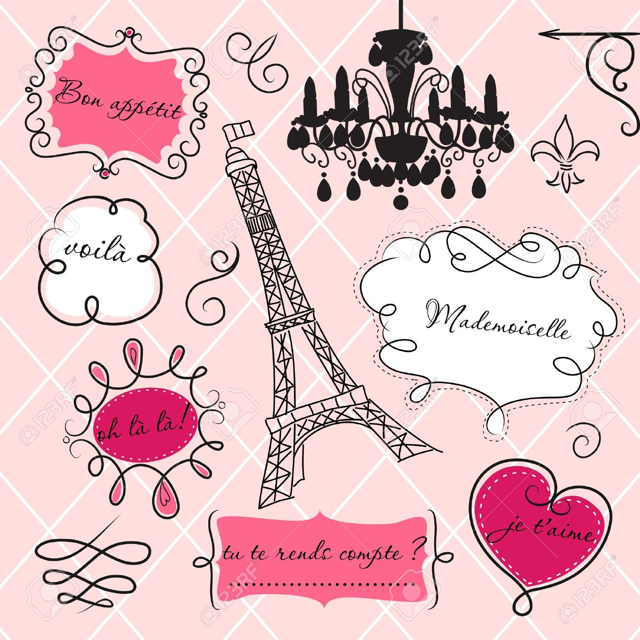 3,370 Paris Fashion Cliparts, Stock Vector And Royalty Free Paris.
