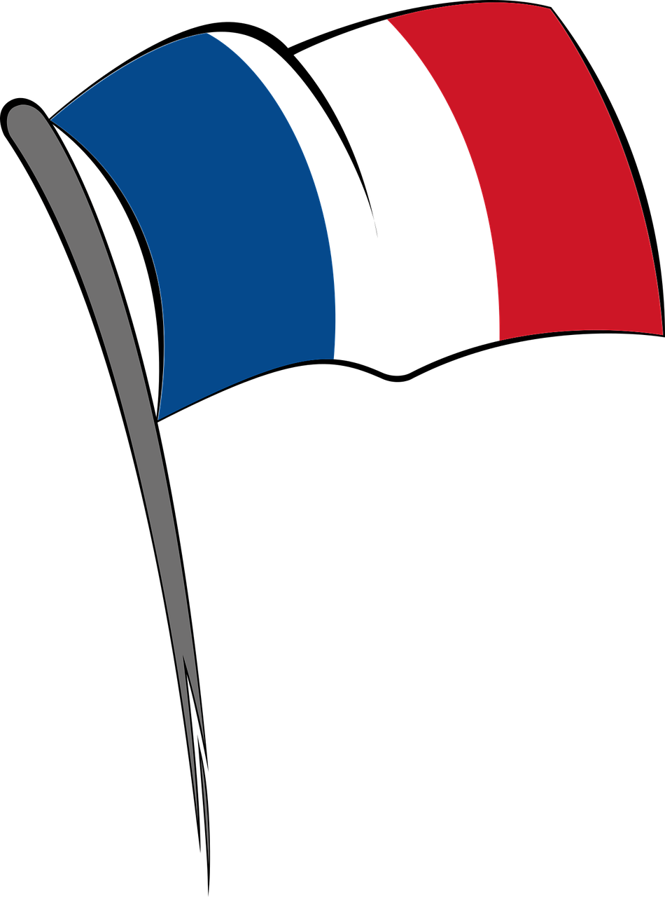 French clipart flag paris, French flag paris Transparent.