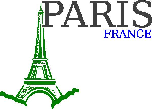 Paris France Logo Clip Art at Clker.com.