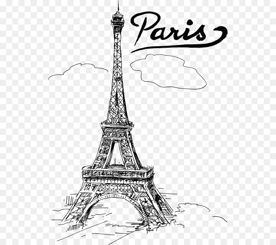 Eiffel Tower Drawing T #152788.