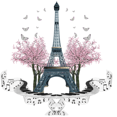 Paris PNG Photo.