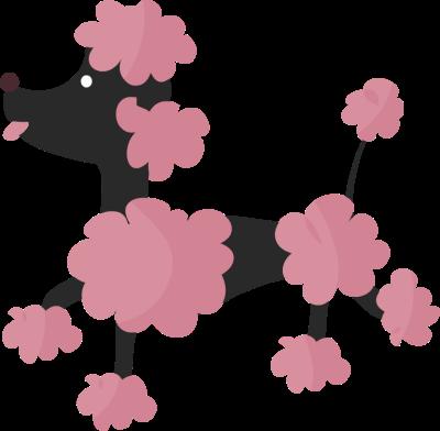 Black paris poodle clipart clipart kid image #41701.