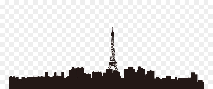 Paris Silhouette Wallpaper.