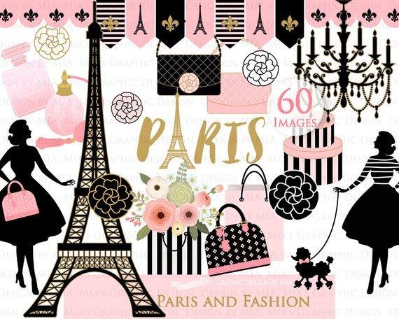 Paris theme clipart 6 » Clipart Portal.