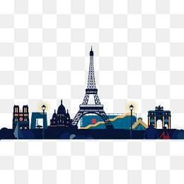 Paris City Png, Vector, PSD, and Clipart With Transparent.