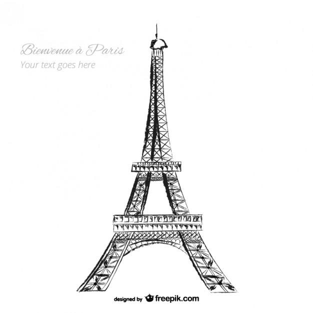 Eiffel tower Vector.