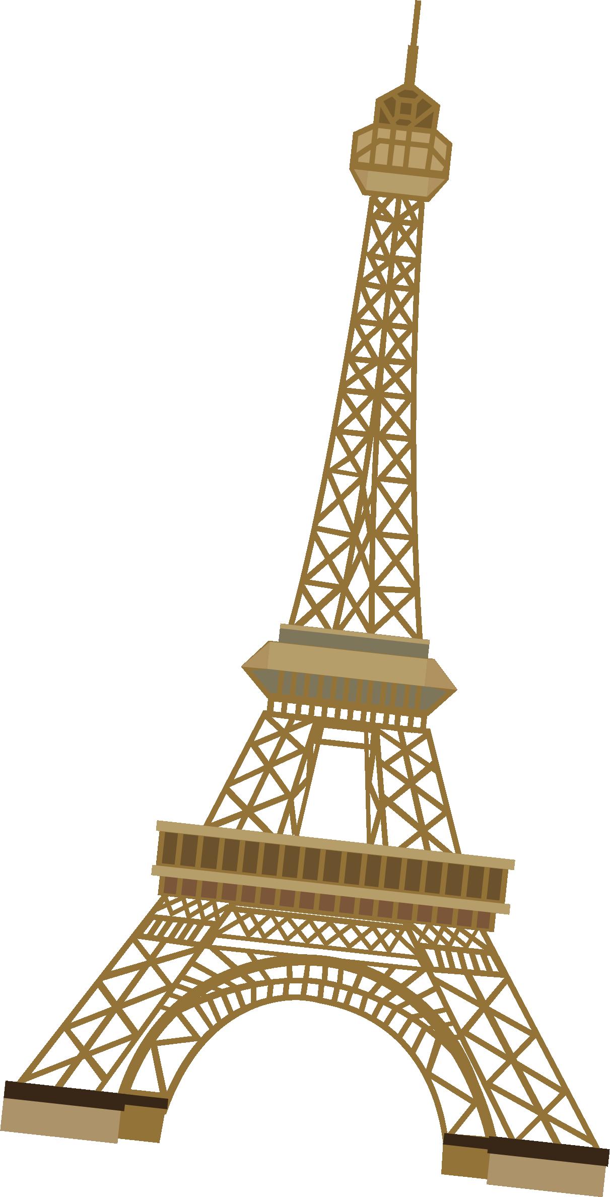 Eiffel Tower Euclidean vector.