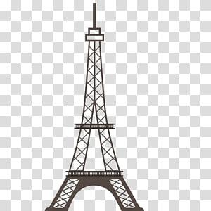 Paris Vector transparent background PNG cliparts free.