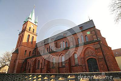 Die Kirche Maria Vom Siege,Church Of Maria Victorious In Wien.