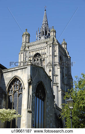 Picture of England, Norfolk, Norwich. St Peter Mancroft, a 15th.