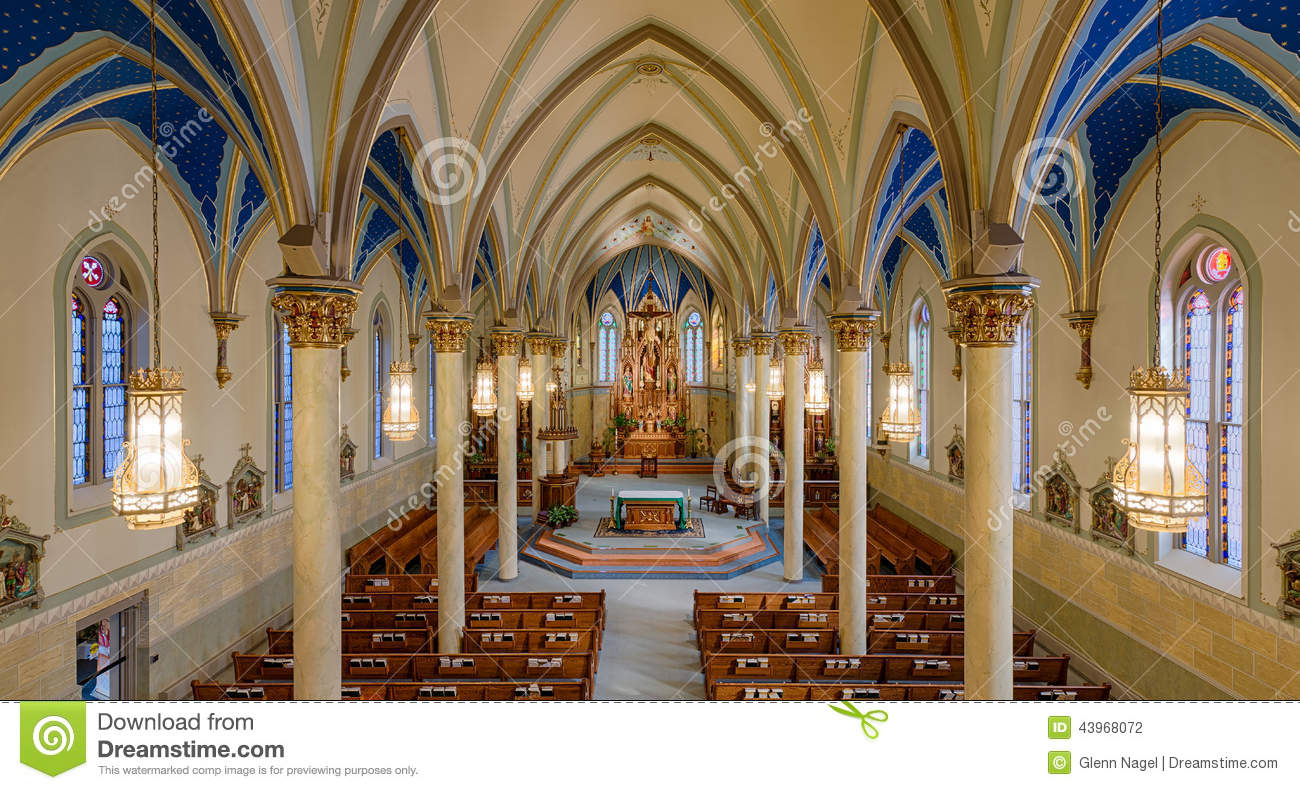 St. Peter Catholic Church Editorial Photography.