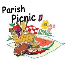Church Picnic Images.