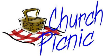 Church Picnic Images.