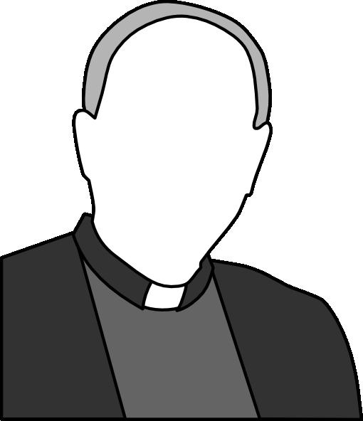 Roman Catholic Priests Clipart.