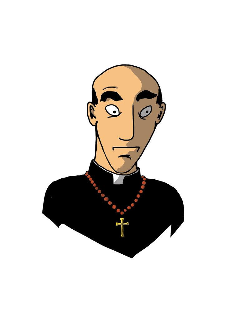 Priest Clip Art Free.