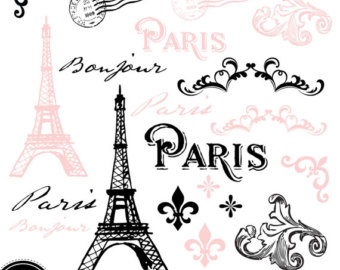 Paris clip art.