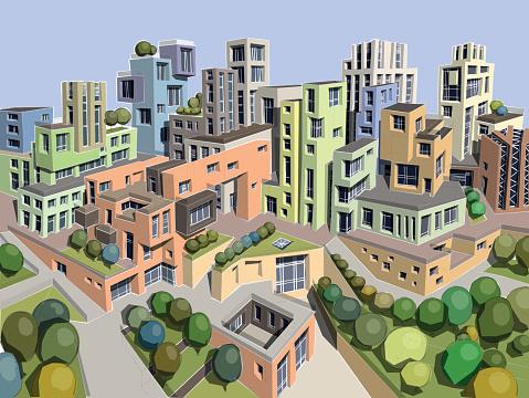 Park Avenue Clip Art, Vector Images & Illustrations.