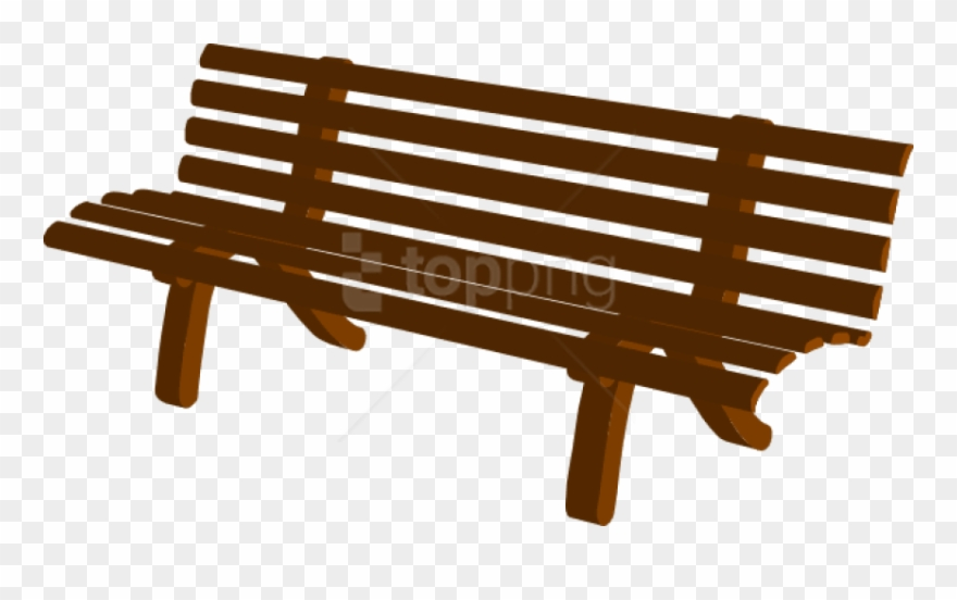 Free Png Park Bench Cartoon Png Image With Transparent.