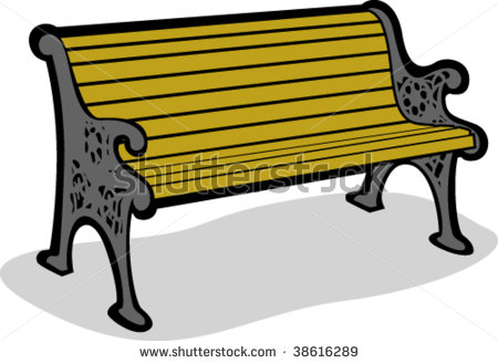 83+ Park Bench Clipart.
