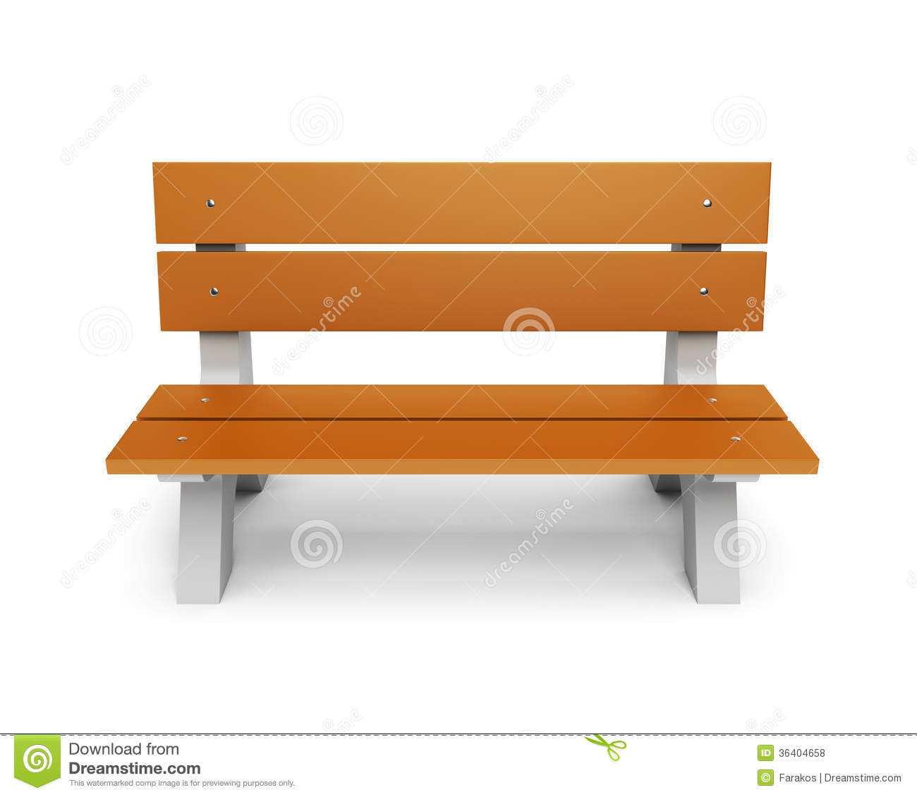 Park bench clipart free.